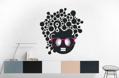 Hoopoe Decor Medium Fashion girl in a stylish look Sticker