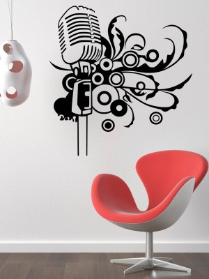 Trends on Wall Medium Music Sticker