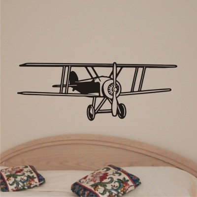 Onebuy.in-Antique Helicopters Medium PVC Sticker