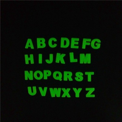 Stickonn Medium Alphabet Glow In The Dark Wall Sticker
