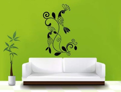 Hoopoe Decor Medium Beautiful Peacock Sticker