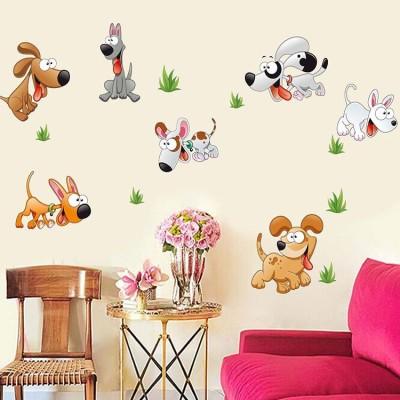 Oren Empower Putty Dogs Sticker For Kids Room