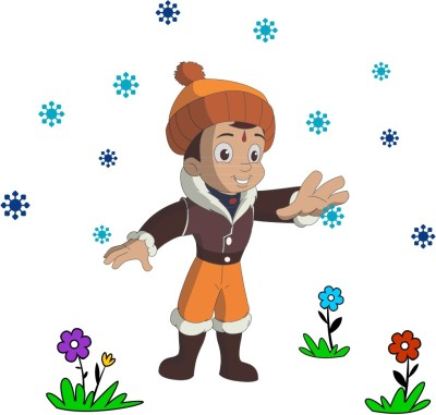 Chhota Bheem Large Wall Sticker Sticker