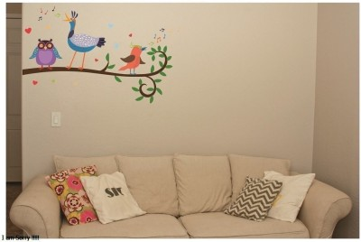 Asmi Collections Small PVC wall Sticker