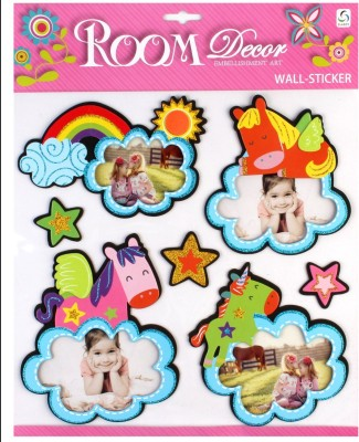 SunBoy Large Kids Room Photo Frame Wall Décor Stickers Sticker
