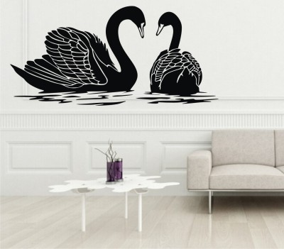 SWATI GRAPHICS Medium VINYL WALL STICKER Sticker