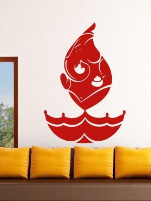 Onebuy.in-Ganesh in Diya Style Medium PVC Sticker