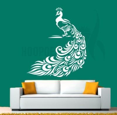 Hoopoe Decor Medium Beautiful Peacock Sticker