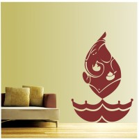 aa3ef5a87 Asmi Collections PVC Wall Sticker Beautiful God Ganesha and Flower ...