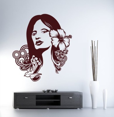 Hoopoe Decor Medium Beautiful lady Sticker