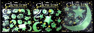 Glowing Imagination Medium Pvc Sticker