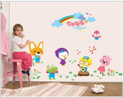 Oren Empower Cute Animals Wall Sticker For Home Decoration