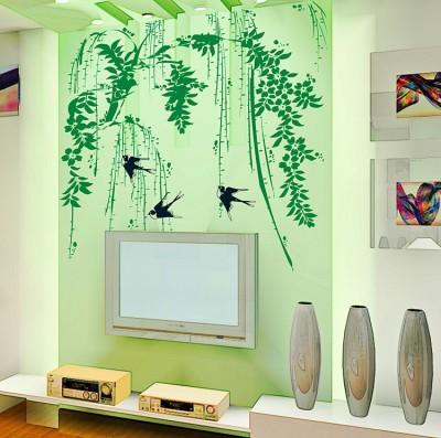 Oren Empower Spring Bamboo Swallow Home Decor Wall Sticker