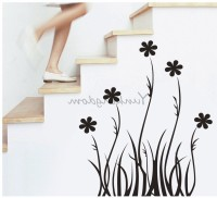 Oren Empower Black Branch Decorative Art Wall Stickers(Multicolor)