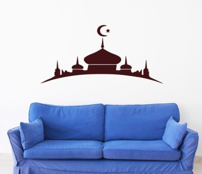 Hoopoe Decor Medium Lovely Mosque Sticker