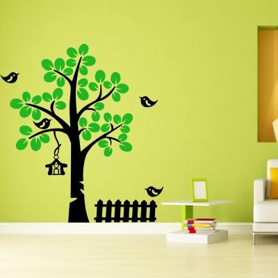 Trends on Wall Medium Nature Art Sticker