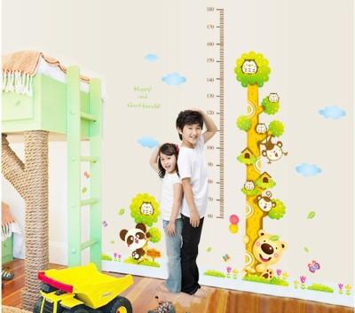 Oren Empower 2pc/Set (Double Sheet) Height Measurement Wall Stickers