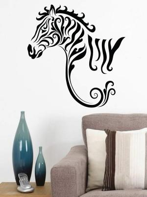Onebuy.in-Zebra in Modern Style Large PVC Sticker