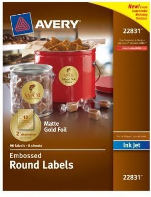 Avery Small Magnetic Sticker Sticker