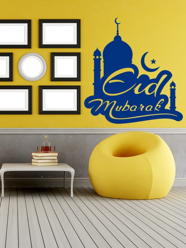 Trends on Wall Medium Spritual Sticker(Pack of 3)