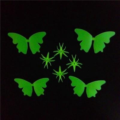 Stickonn Medium Butterfly Glow In The Dark Wall Sticker