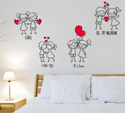 Wallstick Extra Large Vinyl Sticker(Pack of 1)