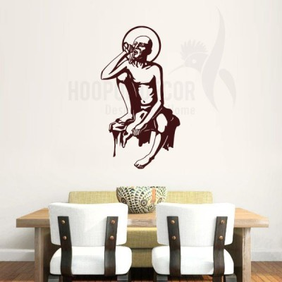Hoopoe Decor Medium Swami Samarth Sticker