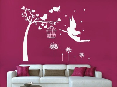 Hoopoe Decor Medium Flying angel Sticker