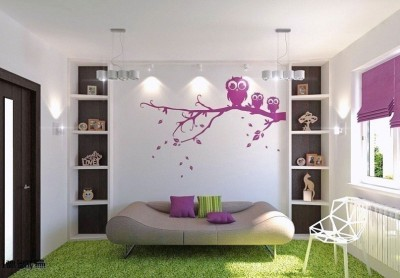 Asmi Collections Large PVC wall sticker Sticker