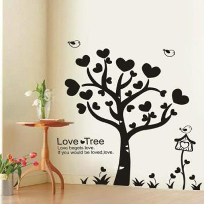 Asmi Collections Medium PVC Wall Sticker