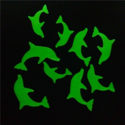 Stickonn Medium Dolphin Glow In The Dark Wall Sticker