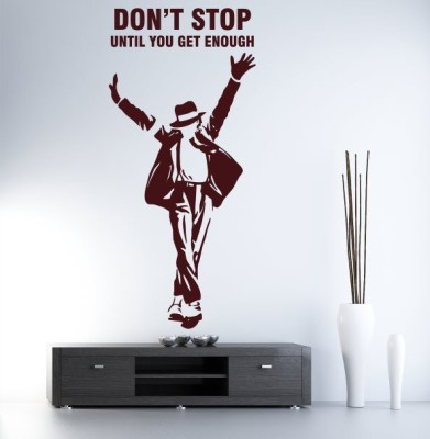 Hoopoe Decor Medium Michael Jackson don,t stop until you get enough Sticker