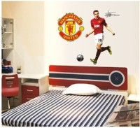 Oren Empower Robin Van Persie Wall Decor Stickers For Football Fans(110 cm X cm 90, Multicolor)