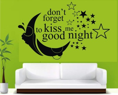 SWATI GRAPHICS Large VINYL WALL STICKER Sticker