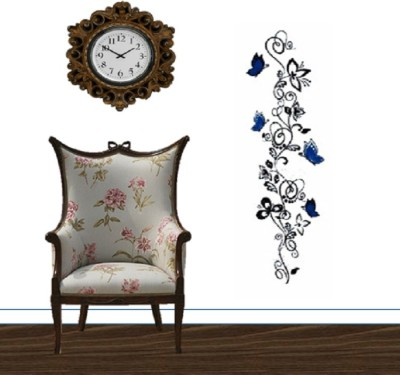 GrabDen Extra Large Contemporary Floral Pattern Wall Sticker