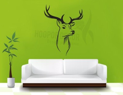Hoopoe Decor Medium Beautiful Deer Sticker