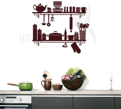 Hoopoe Decor Medium Kitchen Utensils Sticker