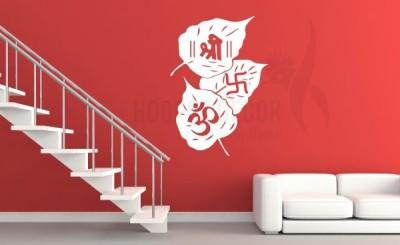 Hoopoe Decor Medium Om, Shree and Swastik Sticker