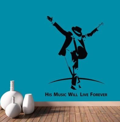 Hoopoe Decor Medium His music will live forever Sticker