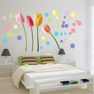 Oren Empower Lovely Roses Wall Decals
