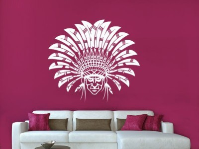 Hoopoe Decor Medium The forest man dressed in his own style Sticker