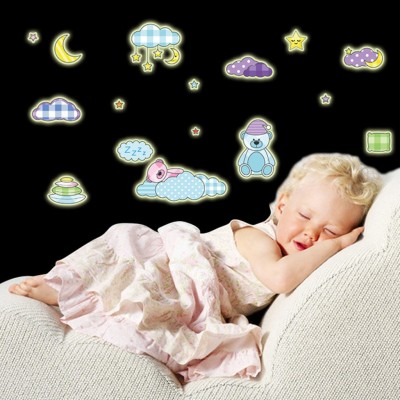Cortina Small Radium Wall Sticker Sticker(Pack of 1) at flipkart