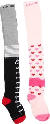 Mee Mee Baby Girl's Textured Stockings