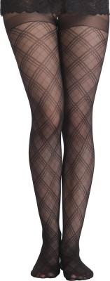 Clovia Women's Textured Stockings