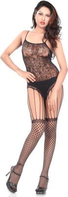 VeenaD designer Women,s, Girl's Textured Stockings