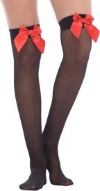 Bahucharaji Creation Women's Lace Top Stockings