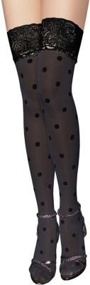 Secret World Women's Lace Top Stockings