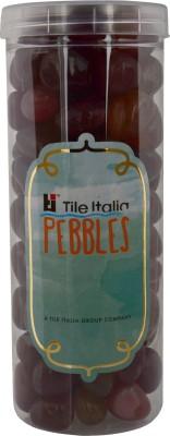 Tile Italia Pebbles Onyx Garnet Pebbles Polished Round Onyx Pebbles