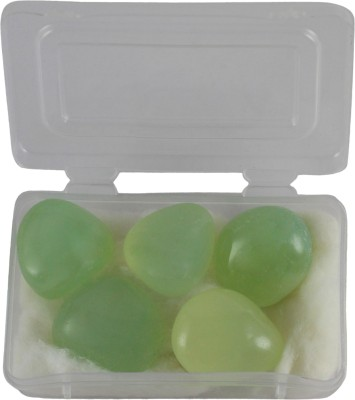Target retail TRES2796 Regular Oval Marble Stone(Green 5 Pieces)