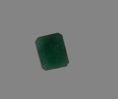 Khwaja Naksh English Panna Regular Rectangular Quartz Stone(Green 1 Pieces)